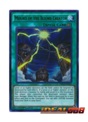 Mound of the Bound Creator - DRL3-EN053 - Ultra Rare - 1st Edition
