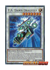 F.A. Dawn Dragster - FLOD-EN088 - Rare - 1st Edition