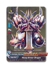 Heavy-Armor Dragon [PP01/0007EN RR] English Golden Double Rare