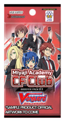 CFV-V-BT03 Miyaji Academy CF Club (English) Cardfight Vanguard V-Booster Pack