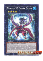 Number 32: Shark Drake - SP14-EN023 - Starfoil Rare - 1st Edition