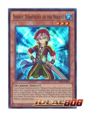 Shurit, Strategist of the Nekroz - THSF-EN010 - Super Rare - 1st Edition
