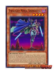 Twilight Ninja Shingetsu - MP16-EN186 - Common - 1st Edition