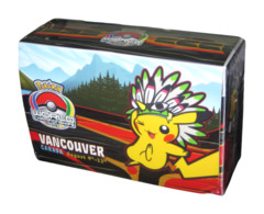 Pokemon World Championships - Double Deck Box - 2013 Vancouver, Canada feat.Pikachu