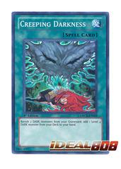 Creeping Darkness - ORCS-EN059 - Super Rare - 1st Edition