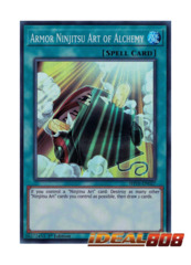 Armor Ninjitsu Art of Alchemy - SHVA-EN027 - Super Rare - 1st Edition