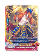 Crimson Battler, Sesters Dragon [H-BT03/0081EN C] English Foil
