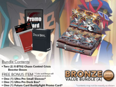 FC-Buddyfight X-BT02 Bundle (A) Bronze - Get x2 Chaos Control Crisis Booster Box + FREE Bonus Items