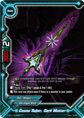 Cosmo Saber, Dark Matter [H-PP01/0038EN R (FOIL)] English