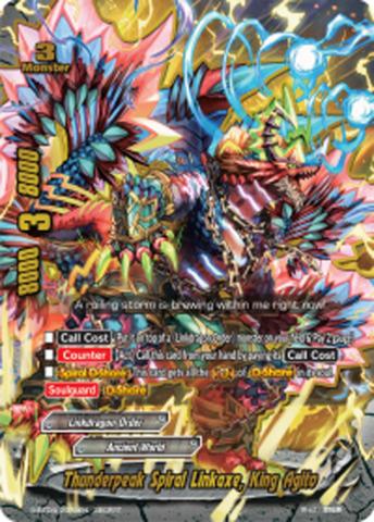 Thunderpeak Spiral Linkaxe, King Agito [S-BT04/0073EN Secret (FOIL)] English