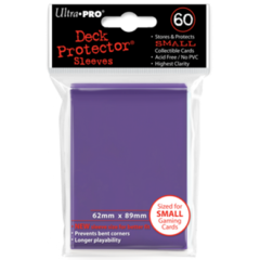 Ultra Pro Small Sleeves 60ct. - Purple (#82971)