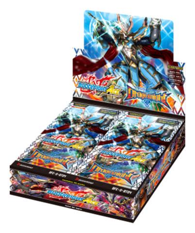 BFE-S-BT04 Drago Knight (English) Future Card Buddyfight Ace Booster Box [30 Packs]