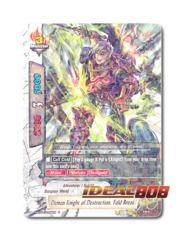 Demon Knight of Destruction, Fold Break [H-BT03/0039EN R] English Foil