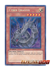 Cyber Dragon - LCGX-EN176 - Secret Rare - 1st Edition