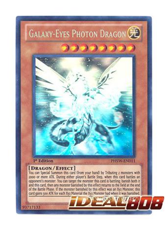 Galaxy-Eyes Photon Dragon - PHSW-EN011 - Ghost Rare - Unlimited Edition