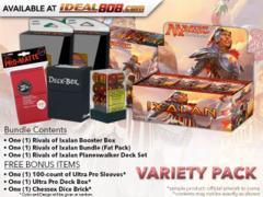 MTGRIX Variety Pack - Get x1 Rivals of Ixalan Booster Box; x1 Bundle; & 1 Planeswalker Deck Set+ FREE Bonus Items