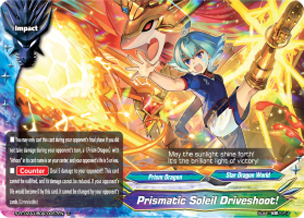 Prismatic Soleil Driveshoot! [S-BT02A-UB04/0057EN C (Regular)] English