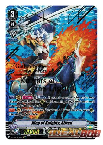 King of Knights, Alfred - V-BT01/SV01EN - SVR (Gold Hot Stamp)