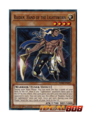 Raiden, Hand of the Lightsworn - SDRR-EN021 - Common - 1st Edition