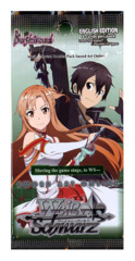 Sword Art Online (English) Weiss Schwarz Booster Pack