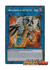 Brotherhood of the Fire Fist - Eagle - FIGA-EN016 - Secret Rare - 1st Edition