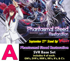 # Phantasmal Steed Restoration [V-BT06 ID (A)] SVR Base Set [4 of each SVR's, RRR's, RR's, R's, & C's]