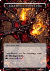 Magic Stone of Scorched Bales [CFC-095 R (Textured Foil)] English