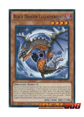Black Dragon Collapserpent - SR02-EN017 - Common - 1st Edition