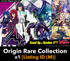 # Strongest! Team AL4 [V-BT02 Listing ID (M)] Origin Rare Collection x1 [Includes 1 of each OR's (4 total)]