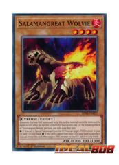 Salamangreat Wolvie - SDSB-EN011 - Common - 1st Edition