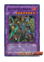 Gladiator Beast Heraklinos - TDGS-ENSE2 - Super Rare - Limited Edition