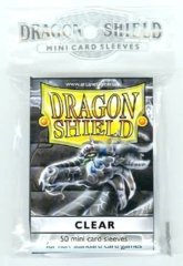 Dragon Shield Small Clear (50ct)