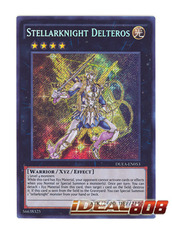 Stellarknight Delteros - DUEA-EN053 - Secret Rare - Unlimited Edition