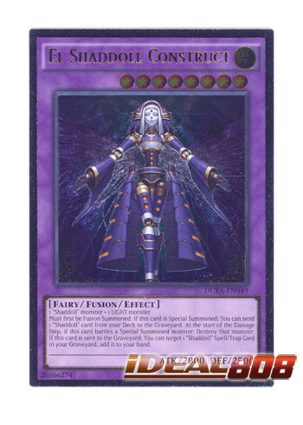El Shaddoll Construct - DUEA-EN049 - Ultimate Rare - Unlimited Edition