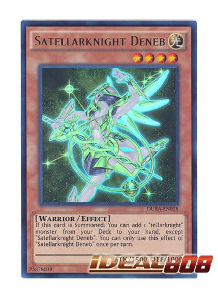 Satellarknight Deneb - DUEA-EN018 - Ultra Rare - Unlimited Edition