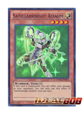 Satellarknight Alsahm - DUEA-EN021 - Super Rare - Unlimited Edition