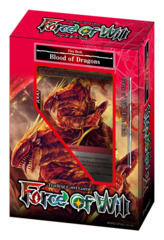 NLP Blood of Dragons (English) Force of Will Fire Starter Deck