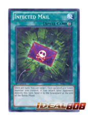 Infected Mail - BP01-EN085 - Starfoil Rare - 1st Edition