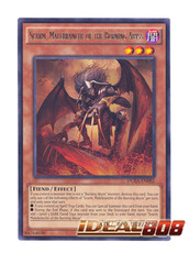 Scarm, Malebranche of the Burning Abyss - DUEA-EN082 - Rare - Unlimited Edition