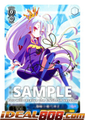 Imanity's Representative, Shiro [NGL/S58-E080SP SP (SIGNED FOIL)] English