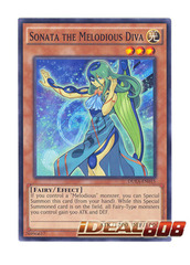 Sonata the Melodious Diva - DUEA-EN015 - Common - Unlimited Edition