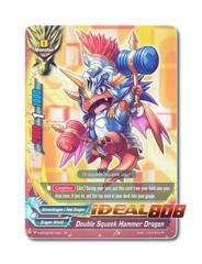 Double Squeek Hammer Dragon [H-BT03/0010EN RR] English Foil