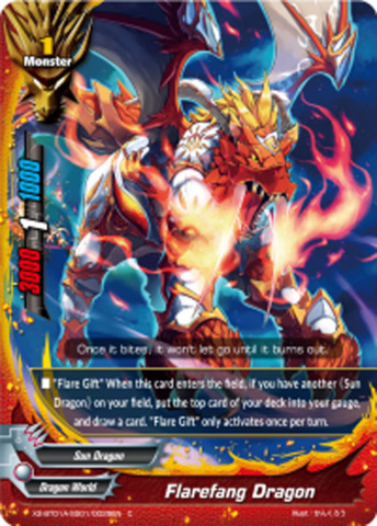Flarefang Dragon [X2-BT01A-SS01/0029EN C (Regular)] English
