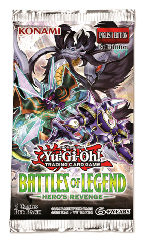 Battles of Legend: Hero's Revenge - (1st Edition) Booster Pack [5 Cards]