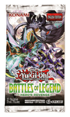 Battles of Legend: Hero's Revenge - (1st Edition) Booster Pack [5 Cards]