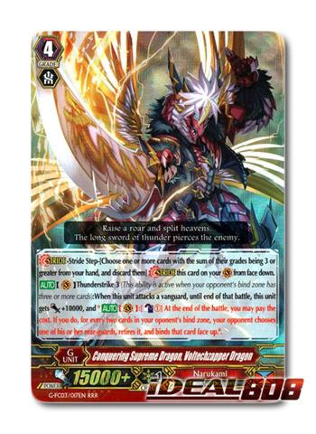 Conquering Supreme Dragon, Voltechzapper Dragon - G-FC03/017 - RRR