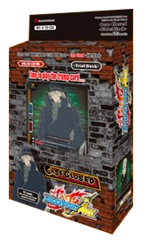 BFE-S-TD-C02 Case Closed -Side:Black- | Detective Conan (English) Future Card Buddyfight Ace Trial Deck