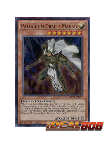 Palladium Oracle Mahad - MVP1-EN053 - Ultra Rare - 1st Edition