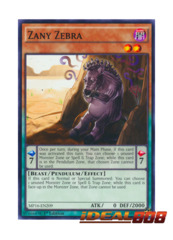 Zany Zebra - MP16-EN209 - Common - 1st Edition