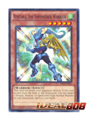 Ventdra the Empowered Warrior - Common - YS14-EN012 (1st Edition)